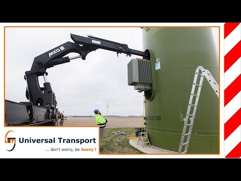 Universal Transport - Services for the wind power industries