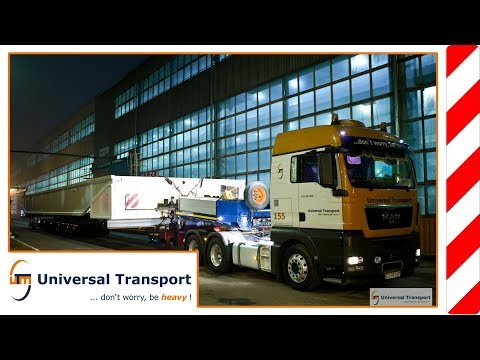 Universal Transport - Heavy load transport from Goerlitz to Leipzig