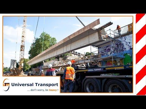 Universal Transport - Bridge girder for the A40 motorway in Essen