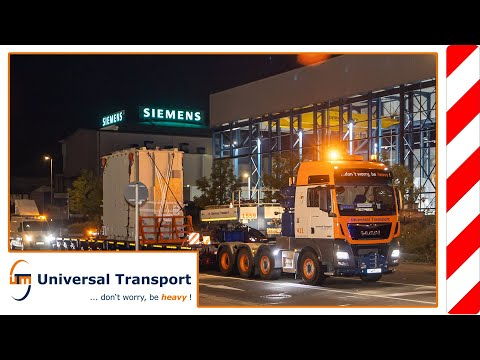 Shuttle service for transformers - Universal Transport