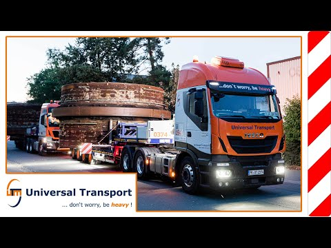 with 6,2m from Bad Meinberg to Paderborn - Universal Transport
