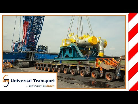 Universal Transport - 18 axles, 137 tons, 2 nights ...