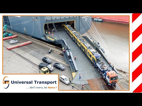Universal Transport - Wien-Bremerhaven-Brisbane - New Trams for Australia