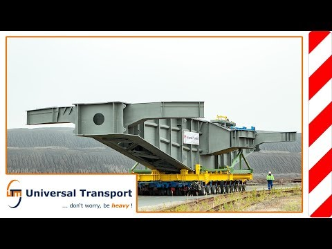Universal Transport - spare parts delivery for the world's largest machine