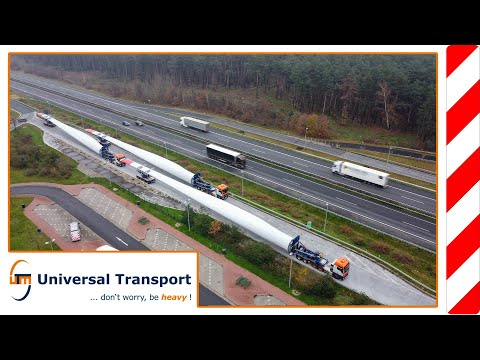 first use of self steering combination of rotor blades - Universal Transport