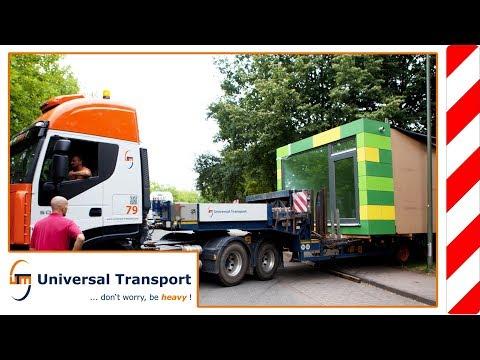 Universal Transport - Cubig module houses for a kindergarten in Bielefeld