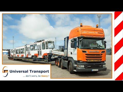 Universal Transport - by Tram to Estonia