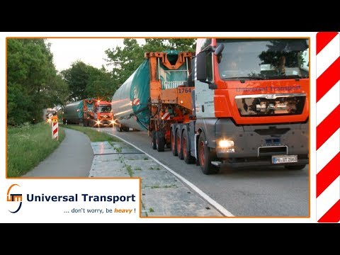 Universal Transport at the Wind Energy fair 2014