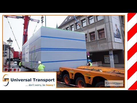 Universal Transport - Four containers flew over the cuckoo's nest