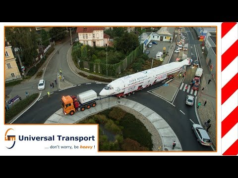 Universal Transport - The last journey of the legendary TU154