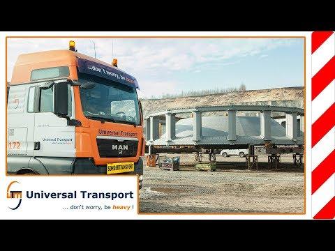 Universal Transport - Ungewöhnliche Ladungen, kein Problem für Universal Transport