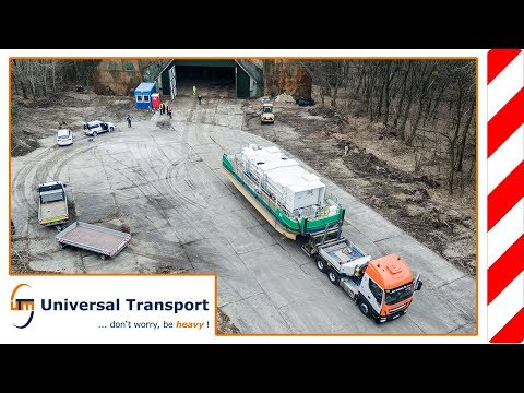 Universal Transport - from hibernation back into the water