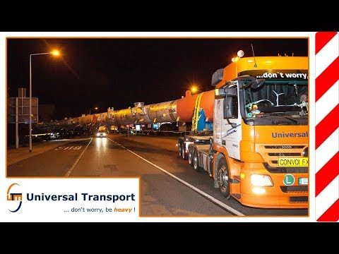Universal Transport - A building component for the chemical industry