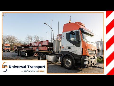 Universal Transport - A truck shuttle for the sylt shuttle