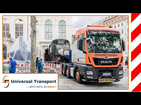 From the rail tracks to the road and back - Universal Transport