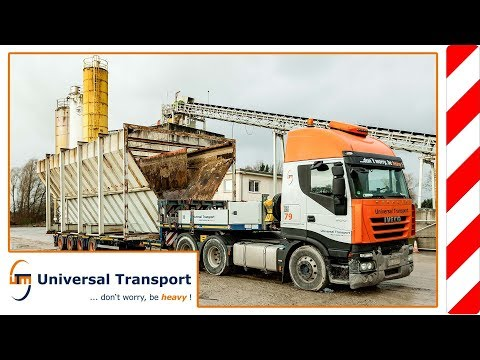 Universal Transport - Moving service for large machines