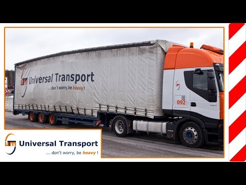 Universal Transport - 4-axle-tarp jumbo trailer