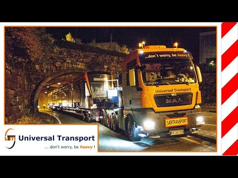 Universal Transport - In 8 days with a tram to norway