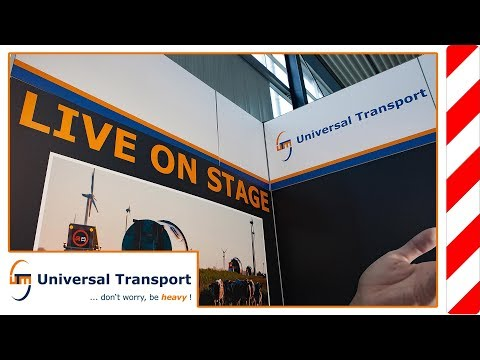 Universal Transport - Husum Wind Energy Fair 2015