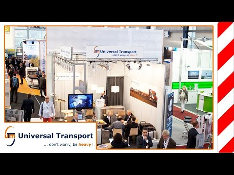 Universal Transport - Impressions Husum WindEnergy Fair 2012