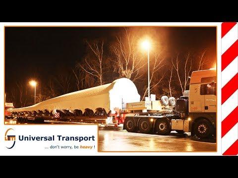 Universal Transport - Original form for a wind turbine blade